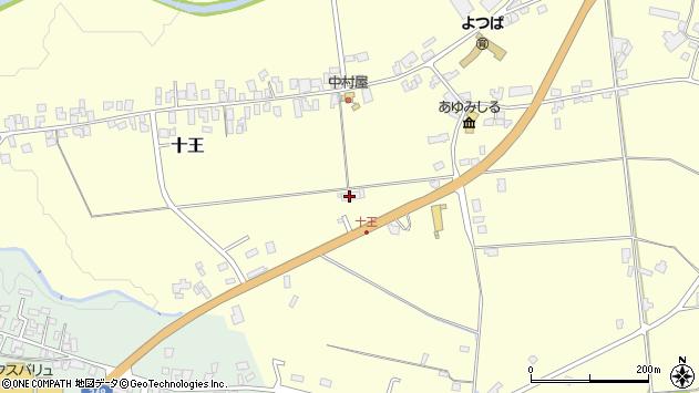 山形県西置賜郡白鷹町十王2480周辺の地図