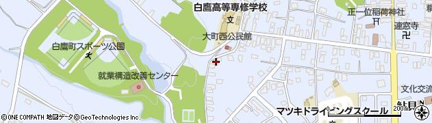 山形県西置賜郡白鷹町鮎貝2232周辺の地図
