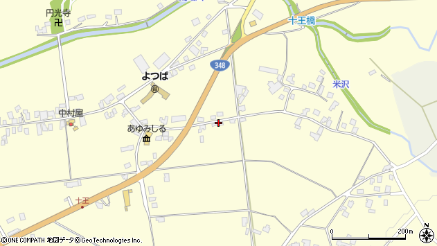 山形県西置賜郡白鷹町十王2435周辺の地図