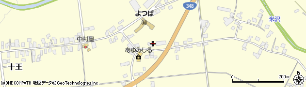 山形県西置賜郡白鷹町十王4391周辺の地図