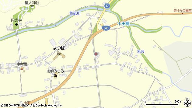 山形県西置賜郡白鷹町十王4421周辺の地図