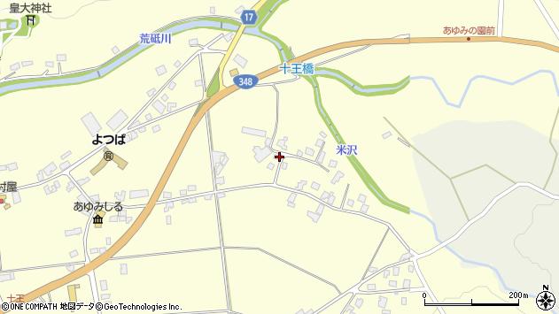 山形県西置賜郡白鷹町十王4413周辺の地図