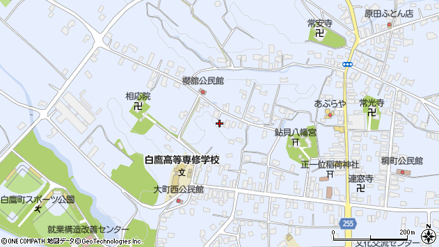 山形県西置賜郡白鷹町鮎貝3354周辺の地図