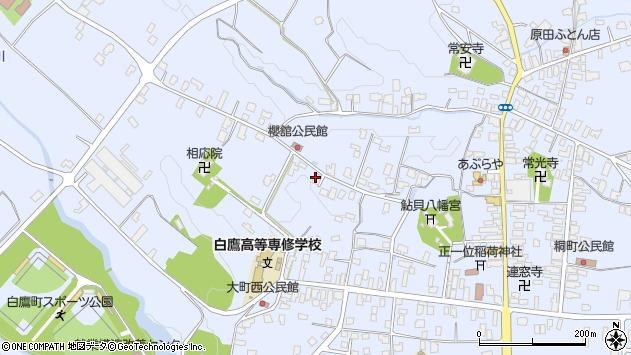 山形県西置賜郡白鷹町鮎貝3353周辺の地図