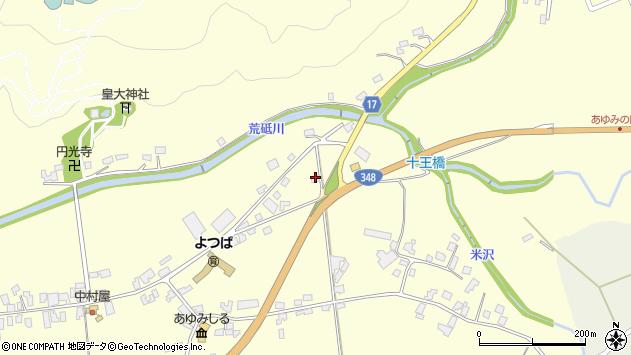 山形県西置賜郡白鷹町十王4274周辺の地図