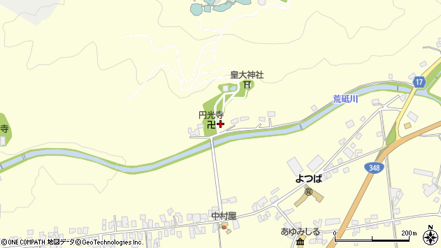 山形県西置賜郡白鷹町十王4004周辺の地図