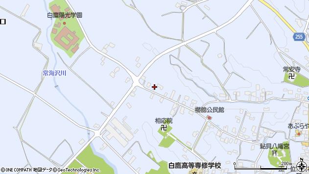 山形県西置賜郡白鷹町鮎貝3686周辺の地図