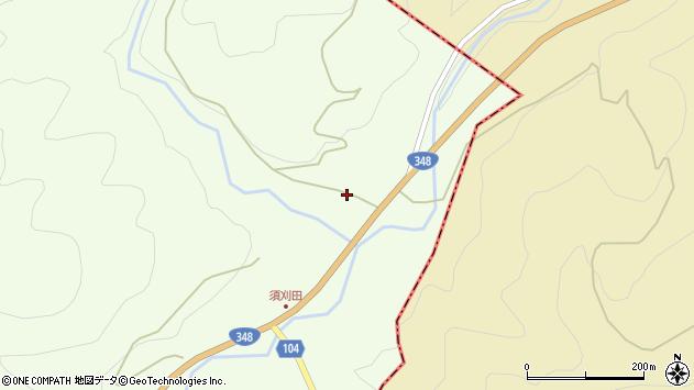 山形県上山市狸森2周辺の地図