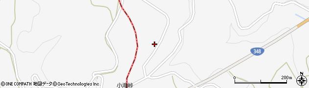山形県上山市小白府453周辺の地図