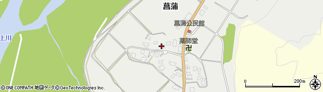 山形県西置賜郡白鷹町菖蒲1061周辺の地図