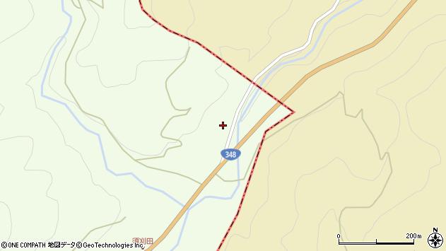 山形県上山市狸森7周辺の地図