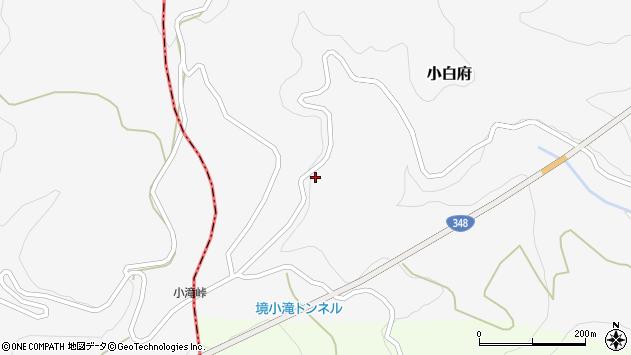山形県上山市小白府890周辺の地図