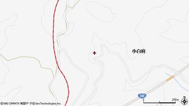 山形県上山市小白府432周辺の地図