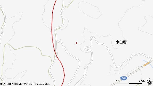 山形県上山市小白府414周辺の地図