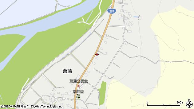 山形県西置賜郡白鷹町菖蒲1317周辺の地図
