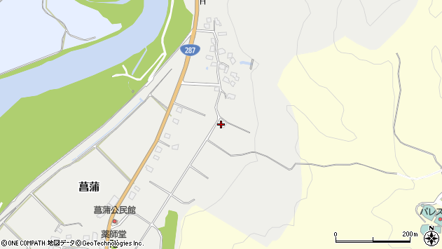 山形県西置賜郡白鷹町菖蒲1426周辺の地図