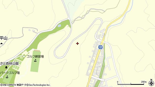 山形県西置賜郡白鷹町十王佛坂周辺の地図