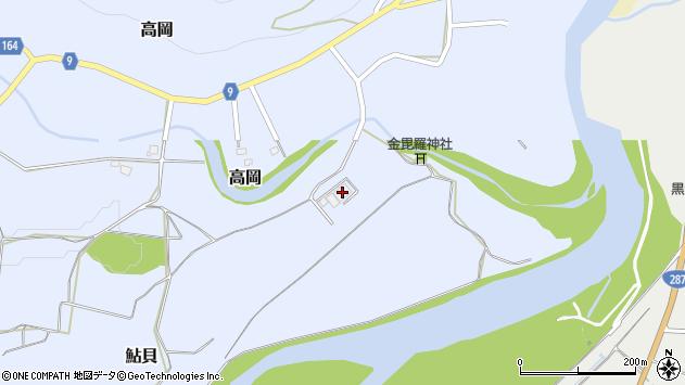 山形県西置賜郡白鷹町高岡240周辺の地図