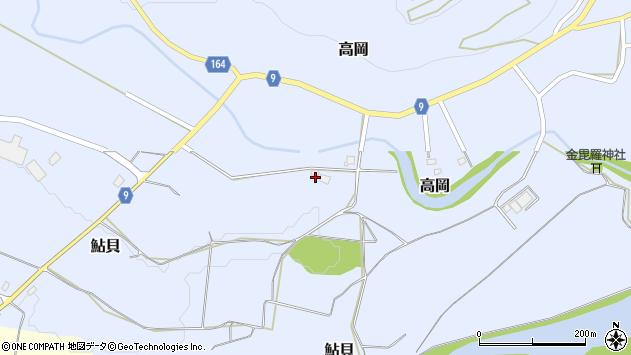 山形県西置賜郡白鷹町高岡821周辺の地図