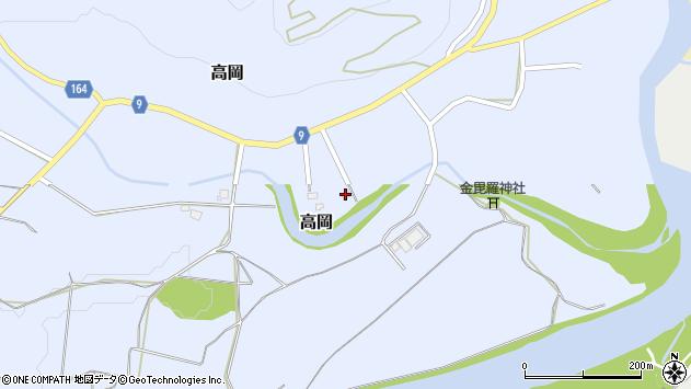 山形県西置賜郡白鷹町高岡2489周辺の地図