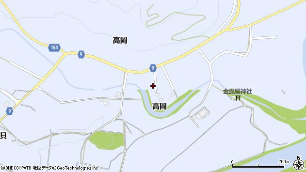 山形県西置賜郡白鷹町高岡2521周辺の地図