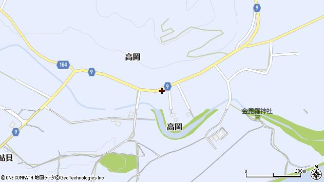 山形県西置賜郡白鷹町高岡2535周辺の地図