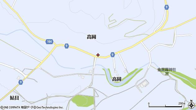 山形県西置賜郡白鷹町高岡2374周辺の地図