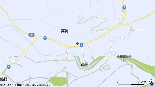 山形県西置賜郡白鷹町高岡2359周辺の地図