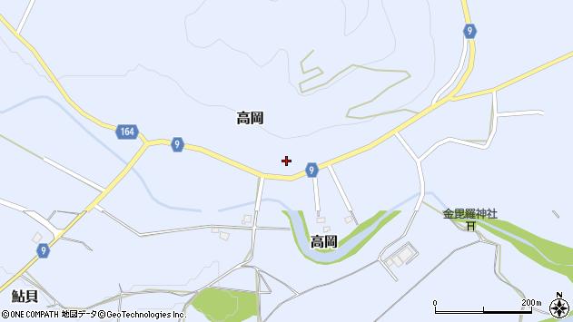 山形県西置賜郡白鷹町高岡2369周辺の地図