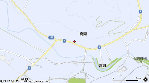 山形県西置賜郡白鷹町高岡2315周辺の地図