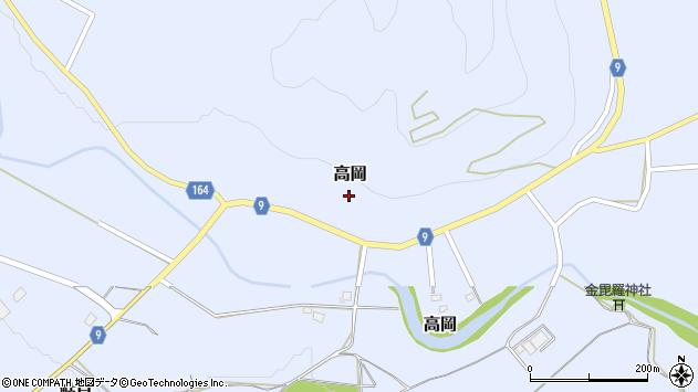 山形県西置賜郡白鷹町高岡2390周辺の地図