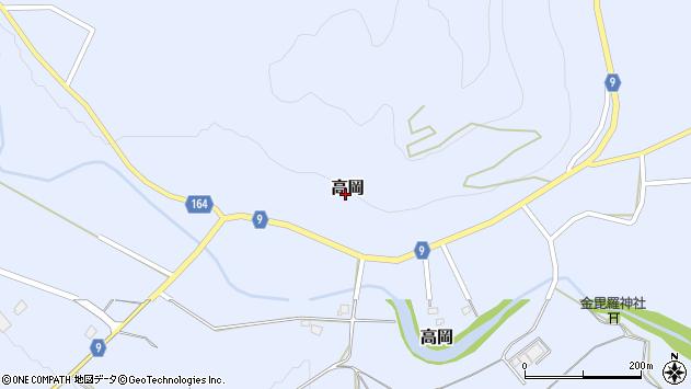 山形県西置賜郡白鷹町高岡2391周辺の地図