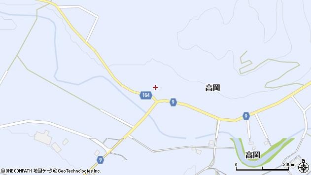 山形県西置賜郡白鷹町高岡2194周辺の地図