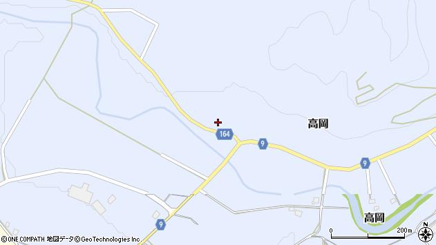 山形県西置賜郡白鷹町高岡2121周辺の地図