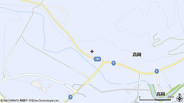 山形県西置賜郡白鷹町高岡2122周辺の地図