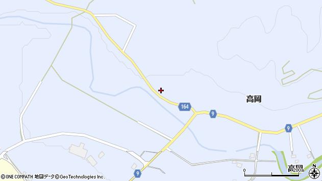 山形県西置賜郡白鷹町高岡2160周辺の地図