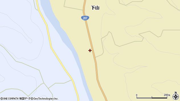 山形県西置賜郡白鷹町下山402周辺の地図