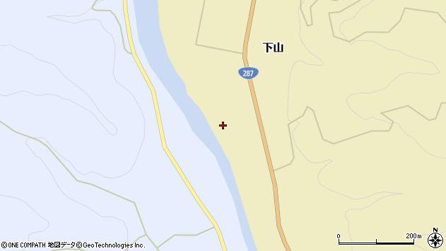 山形県西置賜郡白鷹町下山417周辺の地図