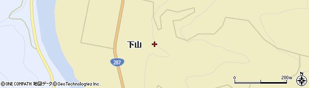 山形県西置賜郡白鷹町下山下山周辺の地図