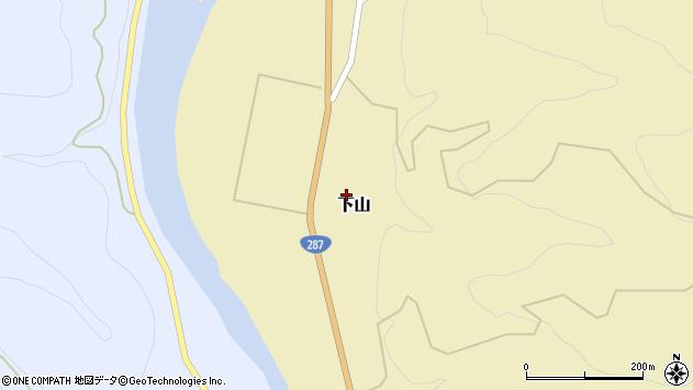 山形県西置賜郡白鷹町下山542周辺の地図