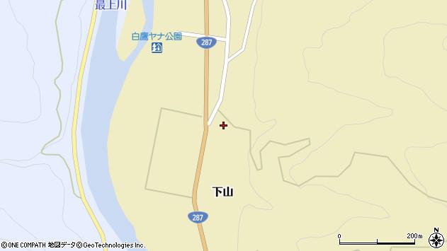 山形県西置賜郡白鷹町下山576周辺の地図
