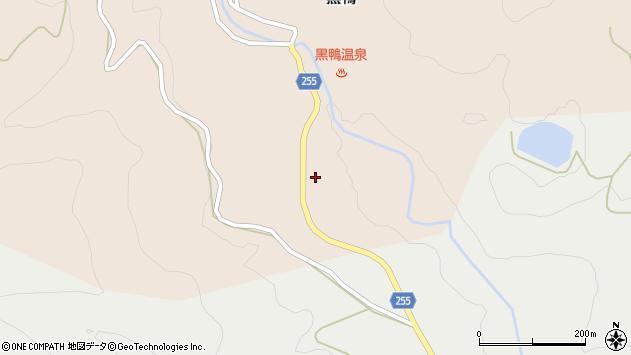 山形県西置賜郡白鷹町黒鴨172周辺の地図