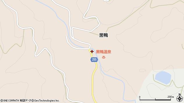 山形県西置賜郡白鷹町黒鴨216周辺の地図