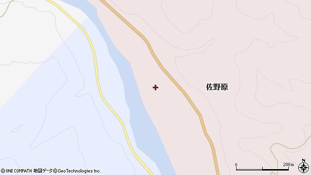 山形県西置賜郡白鷹町佐野原周辺の地図