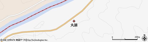 山形県西置賜郡白鷹町大瀬1028周辺の地図