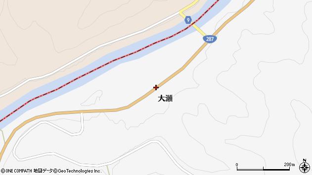 山形県西置賜郡白鷹町大瀬1024周辺の地図