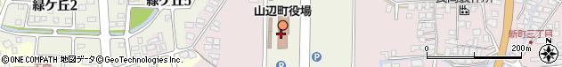 山形県東村山郡山辺町周辺の地図