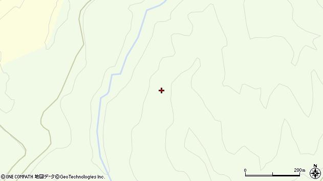 山形県西村山郡大江町勝生周辺の地図