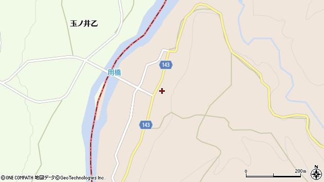山形県西村山郡大江町三郷甲106周辺の地図