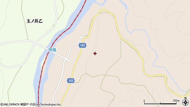 山形県西村山郡大江町三郷甲用周辺の地図